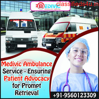 Hurried Patient Transfer Ambulance Service in Kankarbagh, Patna by Medivic