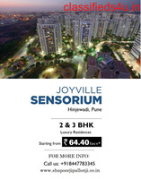 Shapoorji Pallonji Joyville Sensorium - Own Your Dream Home In - Hinjewadi, Pune