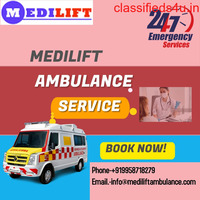 Contact with Medilift Ambulance Service in Salt Lake City to Shift Your Patient