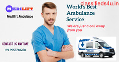 First-Class Medical Services by Medilift Ambulance Service in Sarat Bose Road