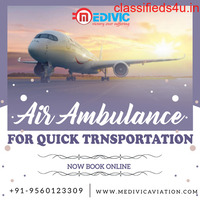 Use Top-Grade Charter Air Ambulance Service in Dibrugarh by Medivic