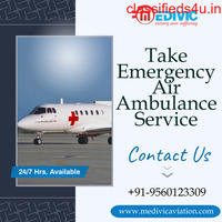 Select the Most Valuable Air Ambulance in Gorakhpur by Medivic