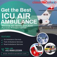 Choose High-Standard Air Ambulance Service in Jamshedpur