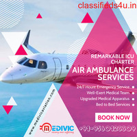 Pick the Most Authentic Air Ambulance Service in Kolkata by Medivic