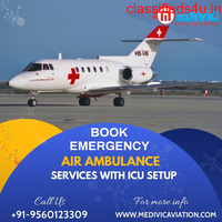 Appropriate Medical Support by Medivic Air Ambulance in Patna
