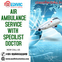 Gain Complete ICU Air Ambulance Service in Ranchi by Medivic