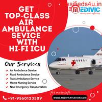 Supreme Medical Aid by Medivic Air Ambulance in Varanasi