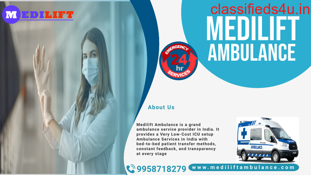 Quality Emergency Services by Ambulance Services in Tollygunge