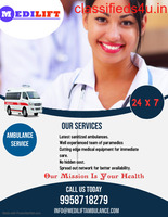 Emergency Medical Services by Medilift Ambulance Service in Howrah, West Bengal