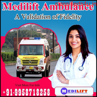 Hire Ambulance Service in Alipore, West Bengal by Medilift Ambulance