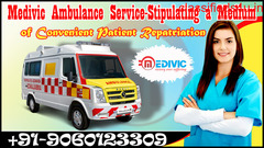 Get an Emergency Support Ambulance Service in Patna – Medivic