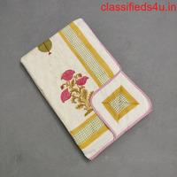 Buy Single Bed Dohar - Jaipur Mela